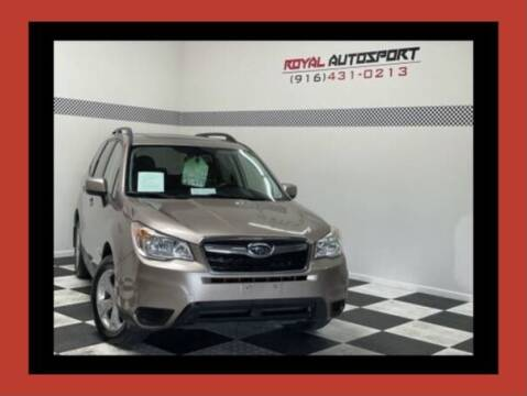 2014 Subaru Forester for sale at Royal AutoSport in Sacramento CA