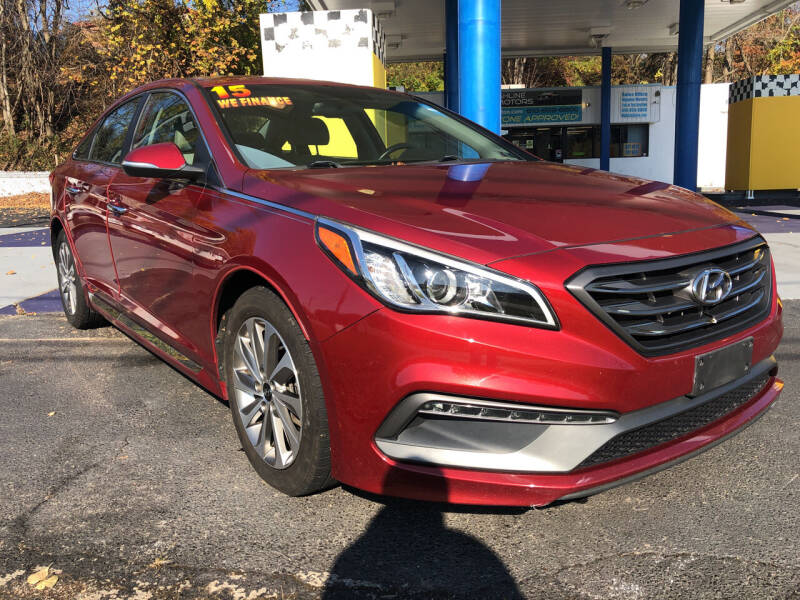 2015 Hyundai Sonata for sale at Highline Motors in Aston PA