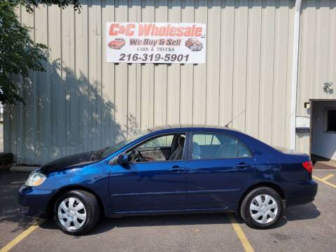 2007 Toyota Corolla for sale at C & C Wholesale in Cleveland OH