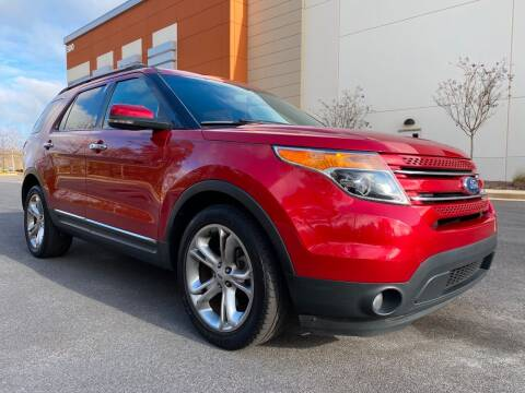 2012 Ford Explorer for sale at ELAN AUTOMOTIVE GROUP in Buford GA