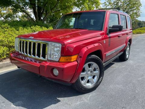 2006 Jeep Commander for sale at William D Auto Sales in Norcross GA