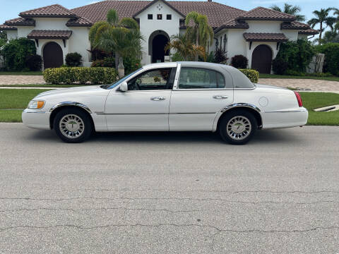 1998 Lincoln Town Car for sale at Second 2 None Auto Center in Naples FL