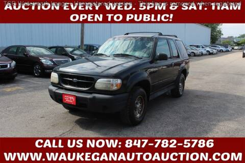 1999 Ford Explorer for sale at Waukegan Auto Auction in Waukegan IL