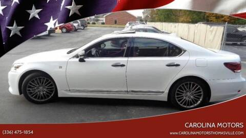 2015 Lexus LS 460 for sale at CAROLINA MOTORS in Thomasville NC