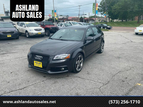 2011 Audi A3 for sale at ASHLAND AUTO SALES in Columbia MO
