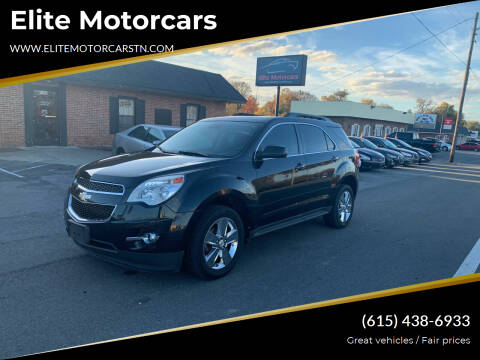 2012 Chevrolet Equinox for sale at Elite Motorcars in Smyrna TN