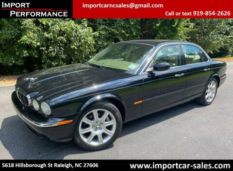 2004 Jaguar XJ-Series for sale at Import Performance Sales in Raleigh NC