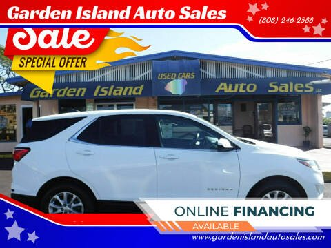 2018 Chevrolet Equinox for sale at Garden Island Auto Sales in Lihue HI