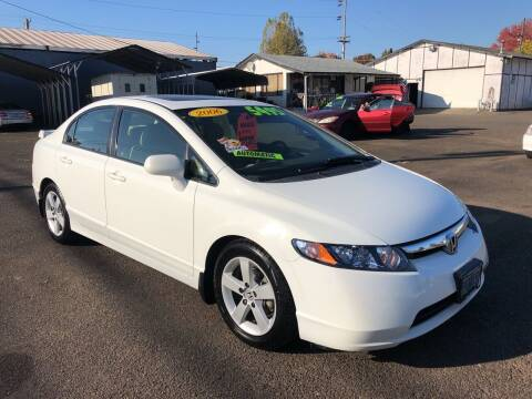 2006 Honda Civic for sale at Freeborn Motors in Lafayette, OR