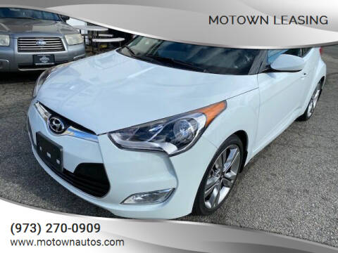 2016 Hyundai Veloster for sale at Motown Leasing in Morristown NJ