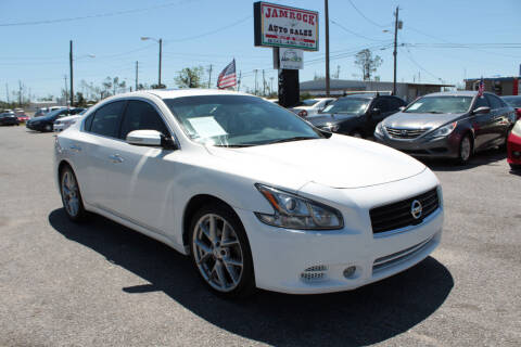 2011 Nissan Maxima for sale at Jamrock Auto Sales of Panama City in Panama City FL