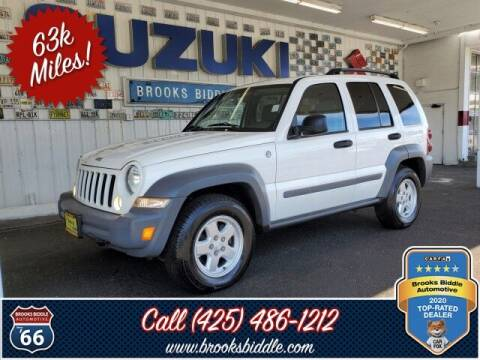 2005 Jeep Liberty for sale at BROOKS BIDDLE AUTOMOTIVE in Bothell WA