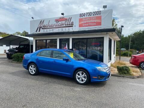 2012 Ford Fusion for sale at Mechanicsville Auto Sales in Mechanicsville VA