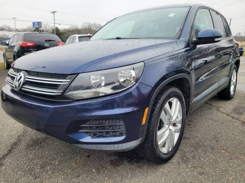 2013 Volkswagen Tiguan for sale at Ace Auto Brokers in Charlotte NC