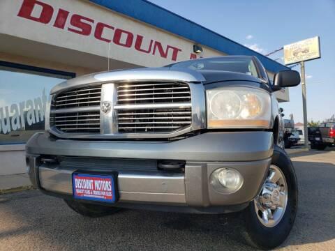 2006 Dodge Ram Pickup 1500 for sale at Discount Motors in Pueblo CO