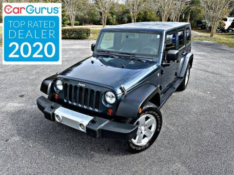 2008 Jeep Wrangler Unlimited for sale at Brothers Auto Sales of Conway in Conway SC