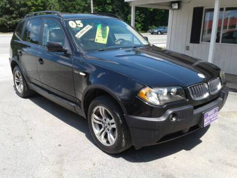 2005 BMW X3 for sale at Quest Auto Outlet in Chichester NH