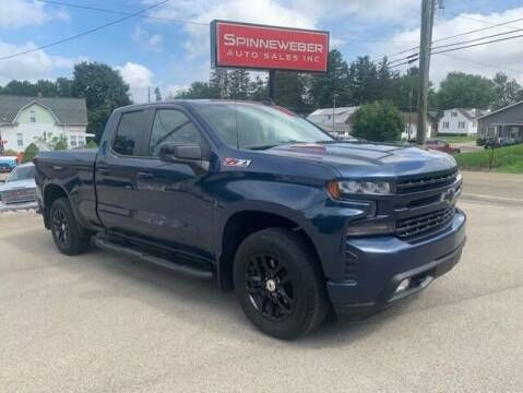2019 Chevrolet Silverado 1500 for sale at SPINNEWEBER AUTO SALES INC in Butler PA