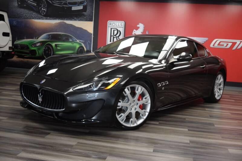 2013 Maserati GranTurismo for sale at Icon Exotics in Houston TX