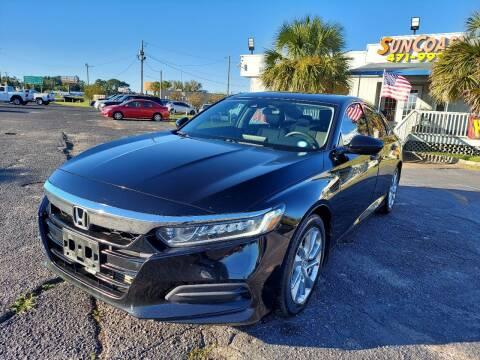 2018 Honda Accord for sale at Sun Coast City Auto Sales in Mobile AL