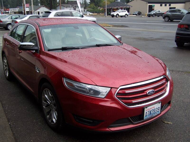 2013 Ford Taurus for sale at M & M Auto Sales LLc in Olympia WA