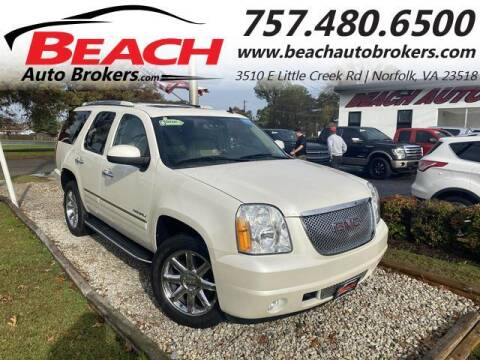 2011 GMC Yukon for sale at Beach Auto Brokers in Norfolk VA