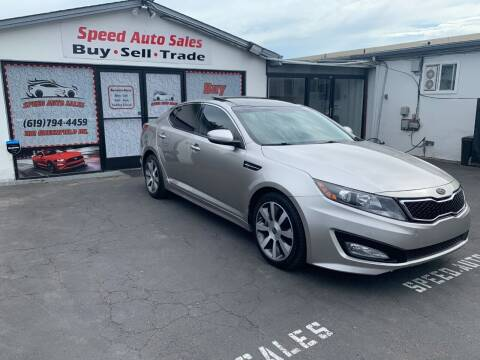 2011 Kia Optima for sale at Speed Auto Sales in El Cajon CA