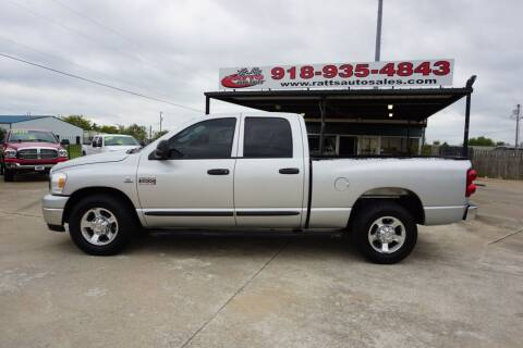 2007 Dodge Ram Pickup 2500 for sale at Ratts Auto Sales in Collinsville OK