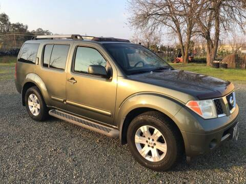2005 Nissan Pathfinder for sale at Quintero's Auto Sales in Vacaville CA