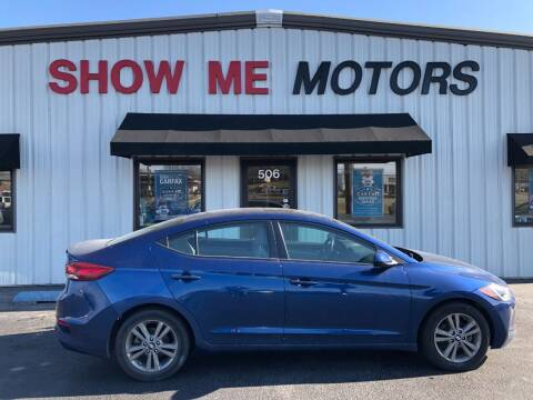 2018 Hyundai Elantra for sale at SHOW ME MOTORS in Cape Girardeau MO