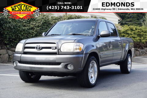2006 Toyota Tundra for sale at West Coast Auto Works in Edmonds WA