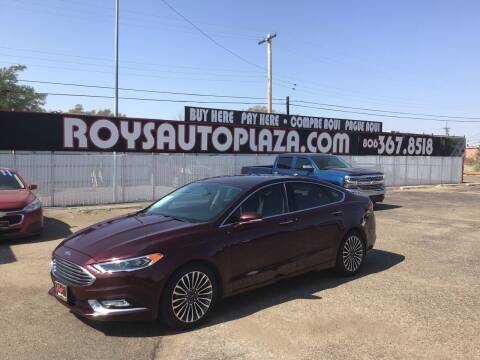 2017 Ford Fusion for sale at Roy's Auto Plaza 2 in Amarillo TX