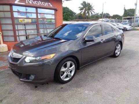 2010 Acura TSX for sale at Z MOTORS INC in Hollywood FL