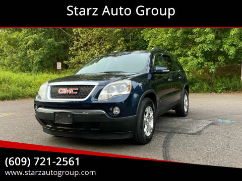 2009 GMC Acadia for sale at Starz Auto Group in Delran NJ