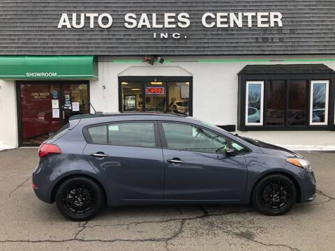 2015 Kia Forte5 for sale at Auto Sales Center Inc in Holyoke MA
