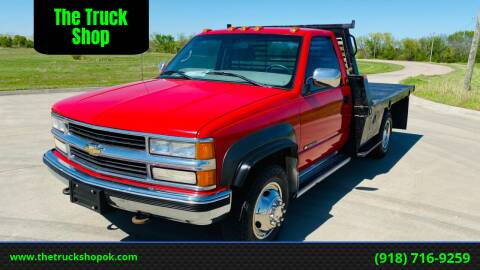 1997 Chevrolet C/K 3500 Series for sale at The Truck Shop in Okemah OK