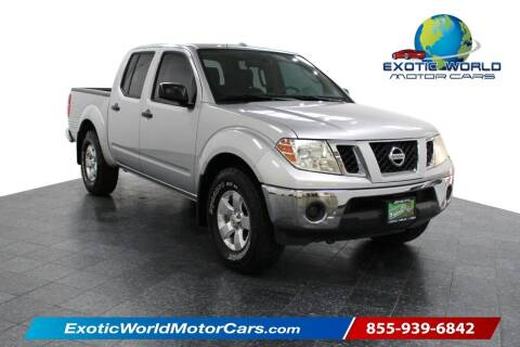 2011 Nissan Frontier for sale at Exotic World Motor Cars in Addison TX