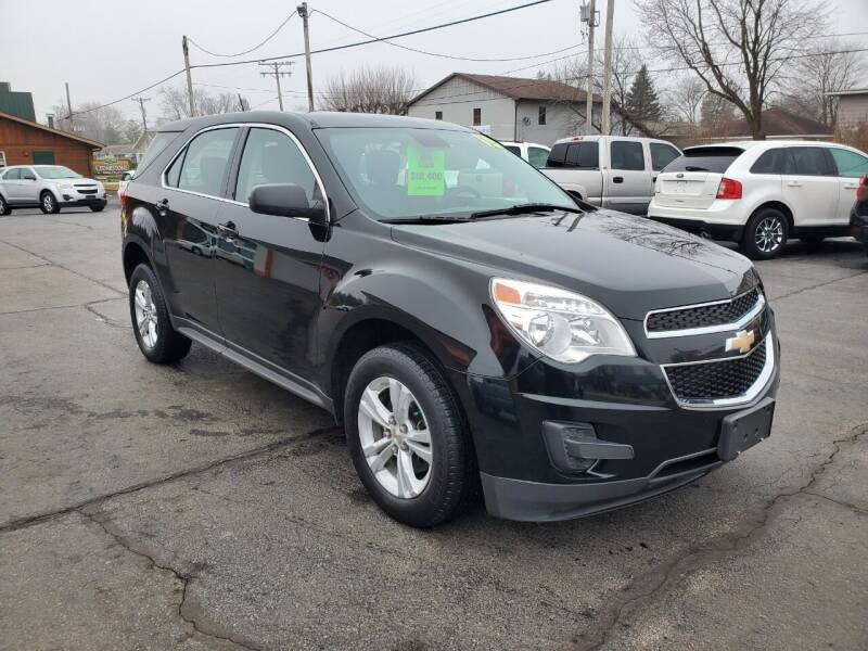 2015 Chevrolet Equinox for sale at Haldane Custom in Polo IL