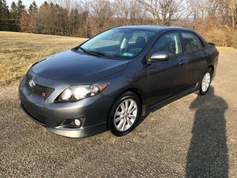 2009 Toyota Corolla for sale at Hutchys Auto Sales & Service in Loyalhanna PA