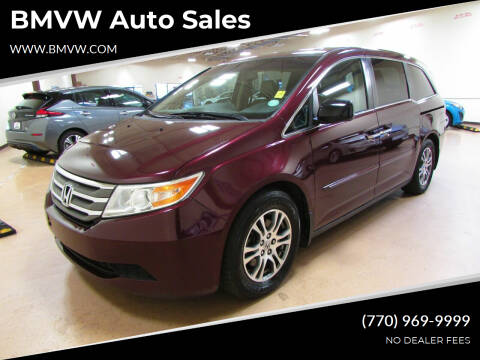 2013 Honda Odyssey for sale at BMVW Auto Sales in Union City GA