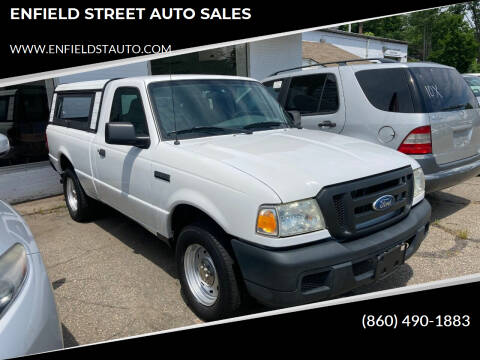 2007 Ford Ranger for sale at ENFIELD STREET AUTO SALES in Enfield CT