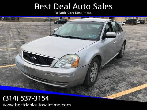 2006 Ford Five Hundred for sale at Best Deal Auto Sales in Saint Charles MO