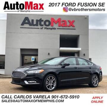 2017 Ford Fusion for sale at AutoMax of Memphis - V Brothers in Memphis TN