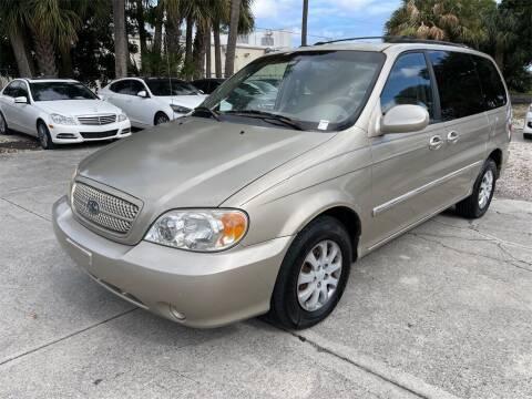 2005 Kia Sedona for sale at Florida Fine Cars - West Palm Beach in West Palm Beach FL
