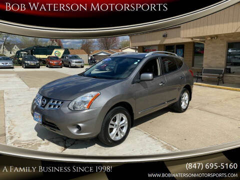 2012 Nissan Rogue for sale at Bob Waterson Motorsports in South Elgin IL