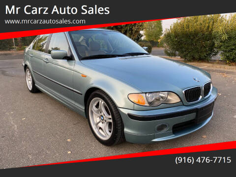 2002 BMW 3 Series for sale at Mr Carz Auto Sales in Sacramento CA