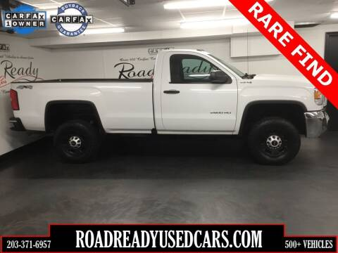 2016 GMC Sierra 2500HD for sale at Road Ready Used Cars in Ansonia CT