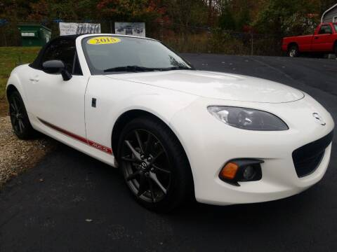 2015 Mazda MX-5 Miata for sale at W V Auto & Powersports Sales in Cross Lanes WV