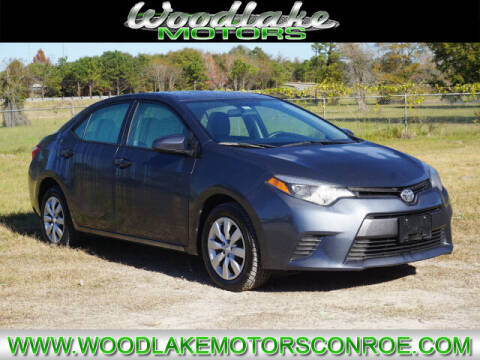 2015 Toyota Corolla for sale at WOODLAKE MOTORS in Conroe TX