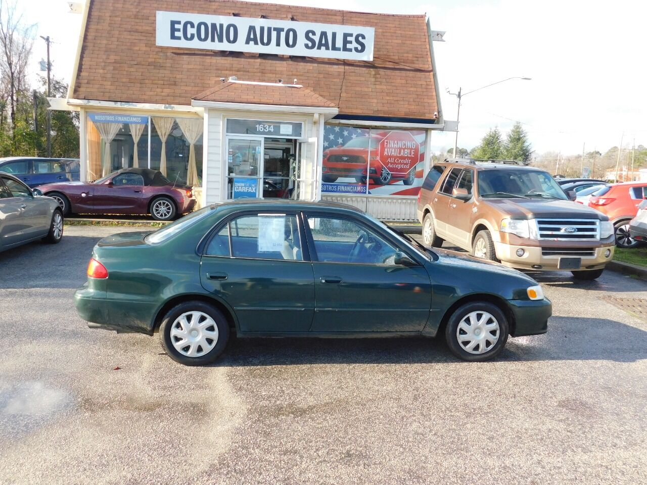used 2002 toyota corolla for sale carsforsale com used 2002 toyota corolla for sale